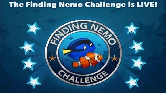 finding nemo challenge