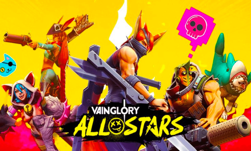best mobile games, vainglory all stars