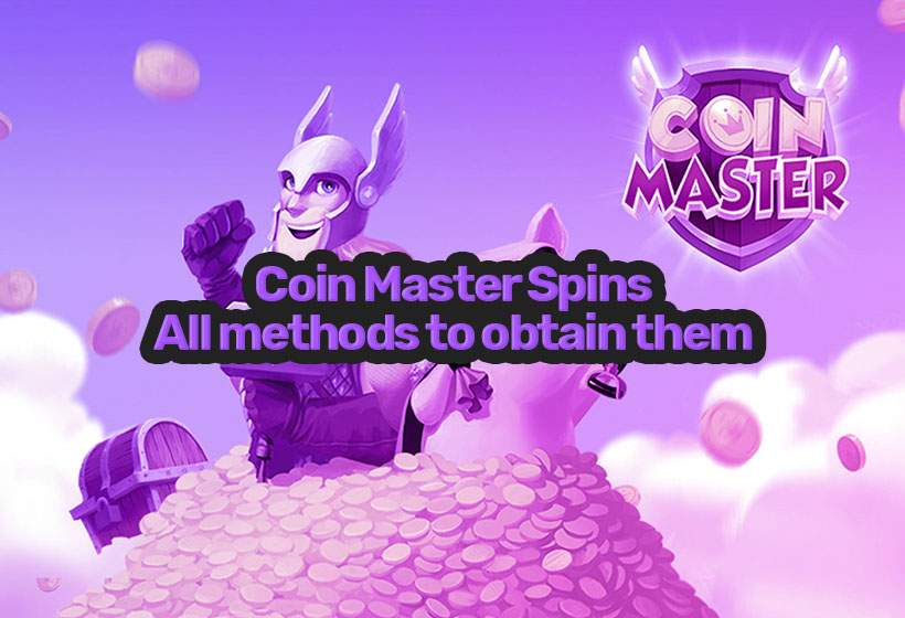 All methods for free Coin Master spins & coins