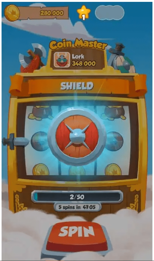 Defence Shield Coin Master