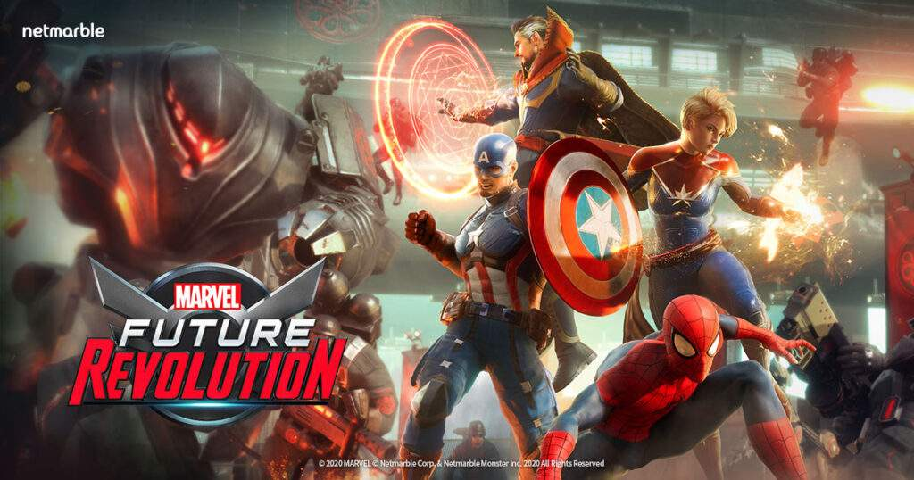 best mobile games, marvel future revolution, 2021