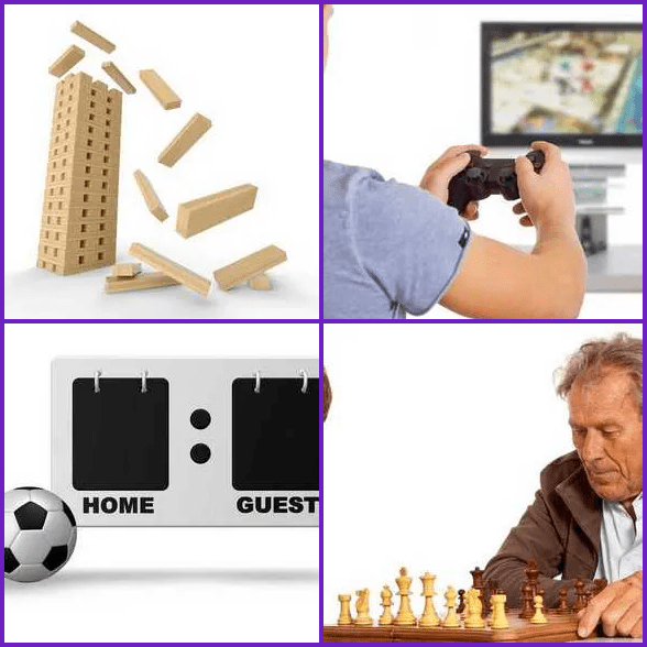 4 Pics 1 Word –  GAME answer