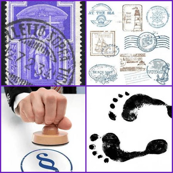 4 Pics 1 Word –  STAMP answer
