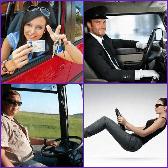 4 Pics 1 Word –  DRIVER answer