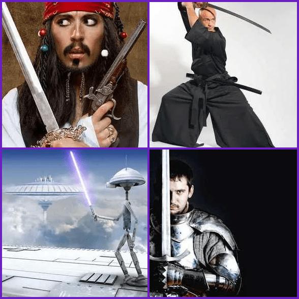 4 Pics 1 Word –  SWORD answer