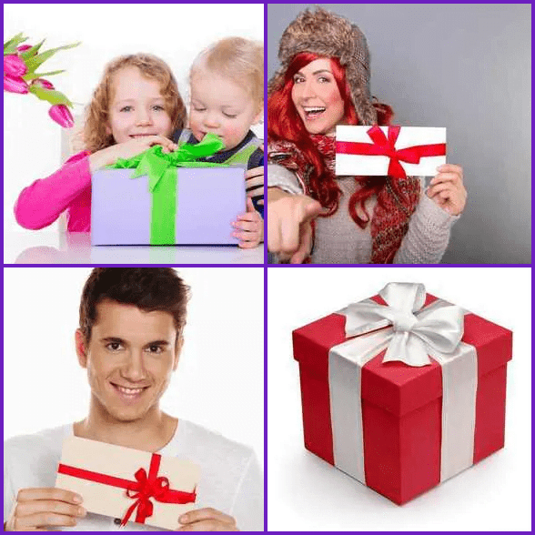 4 Pics 1 Word –  GIFT answer