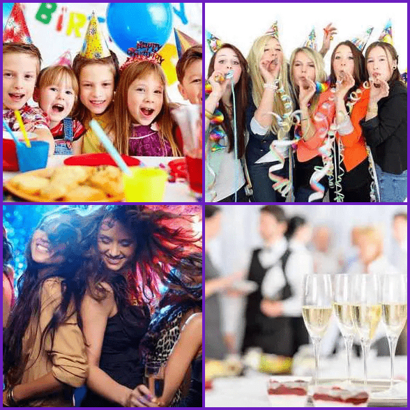 4 Pics 1 Word –  PARTY answer
