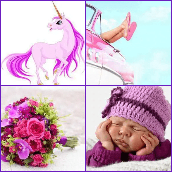 4 Pics 1 Word –  PINK answer