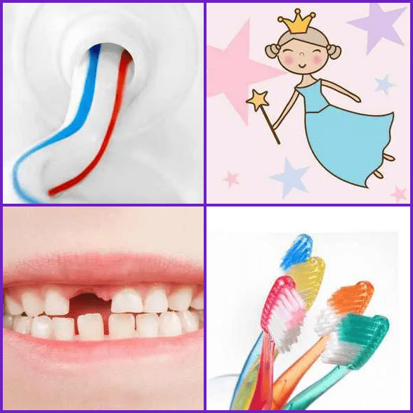 4 Pics 1 Word –  TOOTH answer