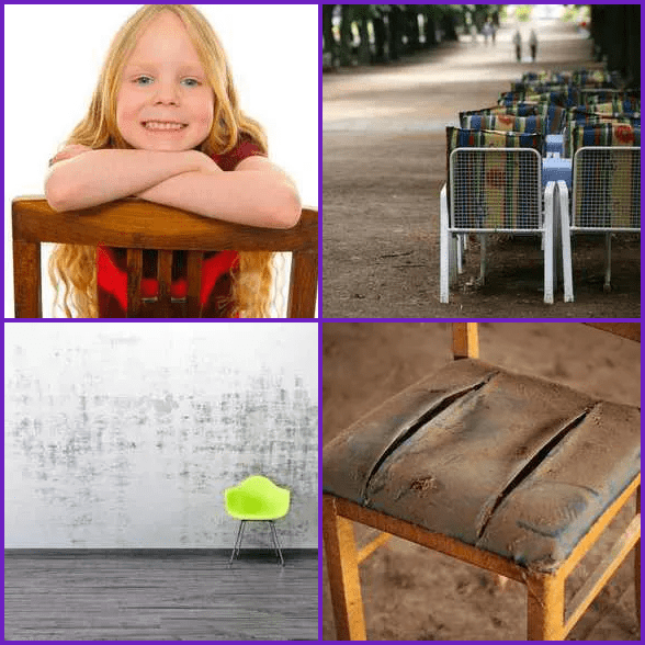 4 Pics 1 Word –  CHAIR answer