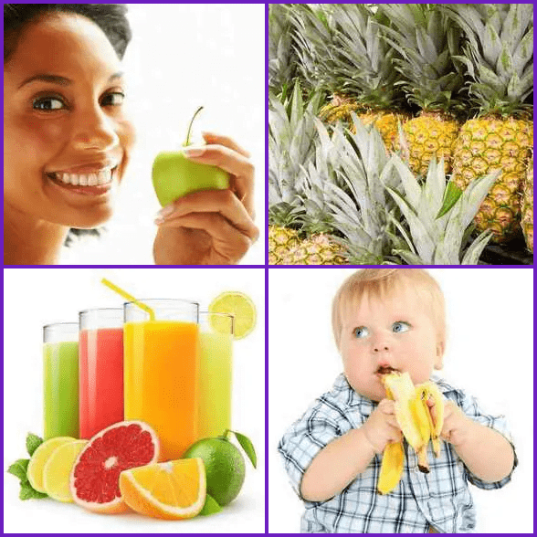 4 Pics 1 Word –  FRUIT answer
