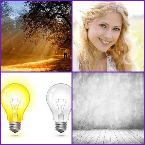 4 Pics 1 Word –  LIGHT answer