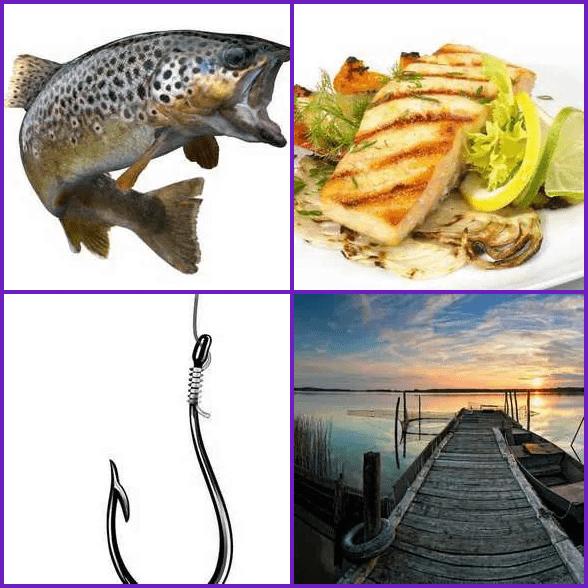 4 Pics 1 Word –  FISH answer