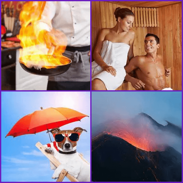 4 Pics 1 Word –  HOT answer