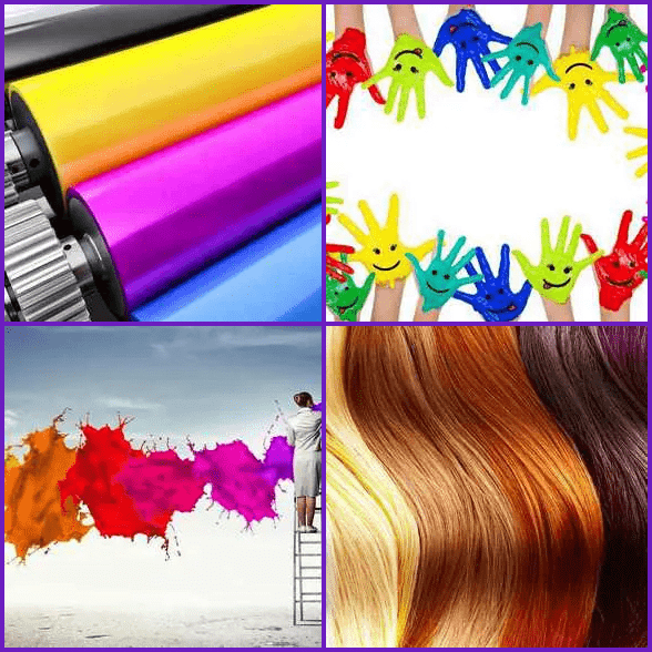 4 Pics 1 Word –  COLOR answer
