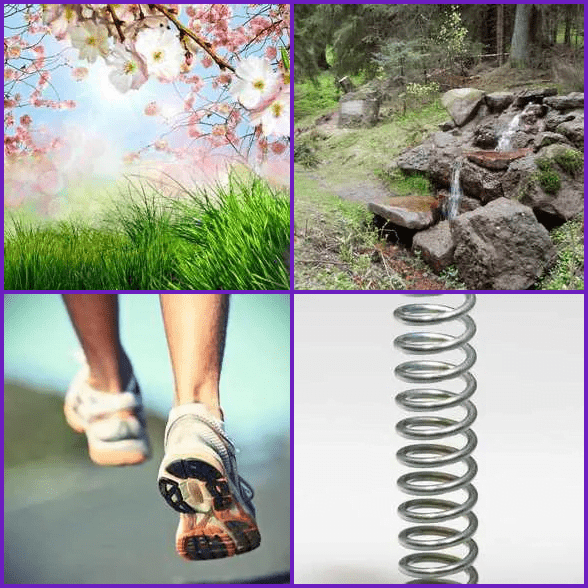 4 Pics 1 Word –  SPRING answer