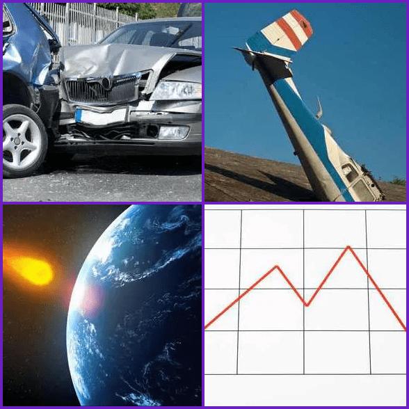4 Pics 1 Word –  CRASH answer