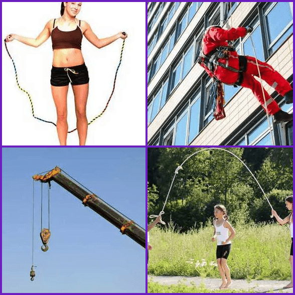 4 Pics 1 Word –  ROPE answer