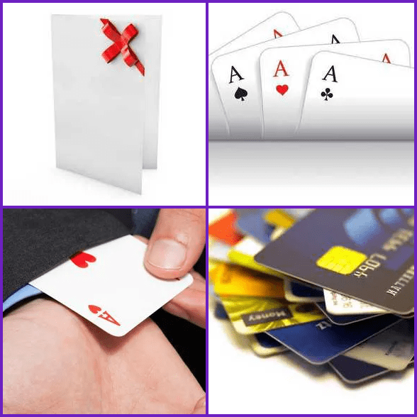 4 Pics 1 Word –  CARD answer