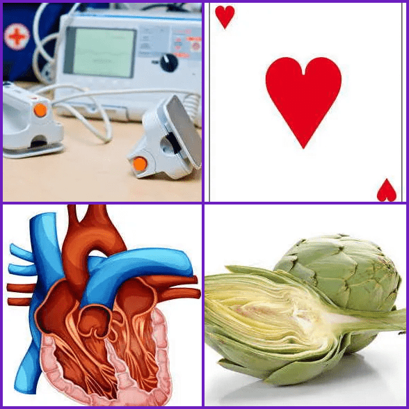 4 Pics 1 Word –  HEART answer