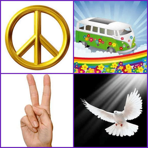 4 Pics 1 Word –  PEACE answer