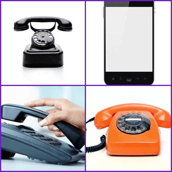4 Pics 1 Word –  PHONE answer