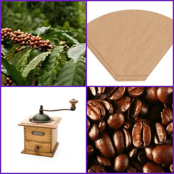 4 Pics 1 Word –  COFFEE answer