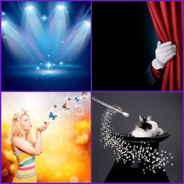 4 Pics 1 Word –  MAGIC answer