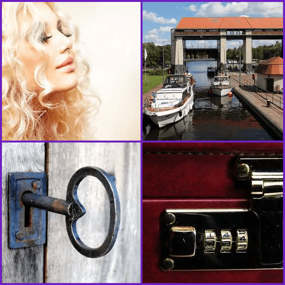 4 Pics 1 Word –  LOCK answer