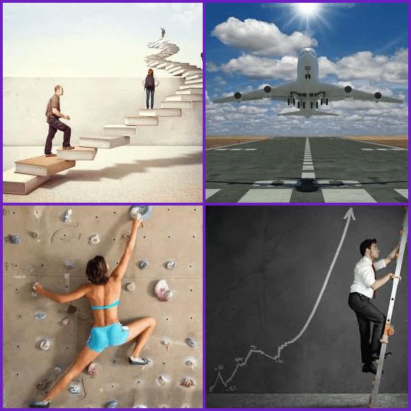 4 Pics 1 Word –  CLIMB answer