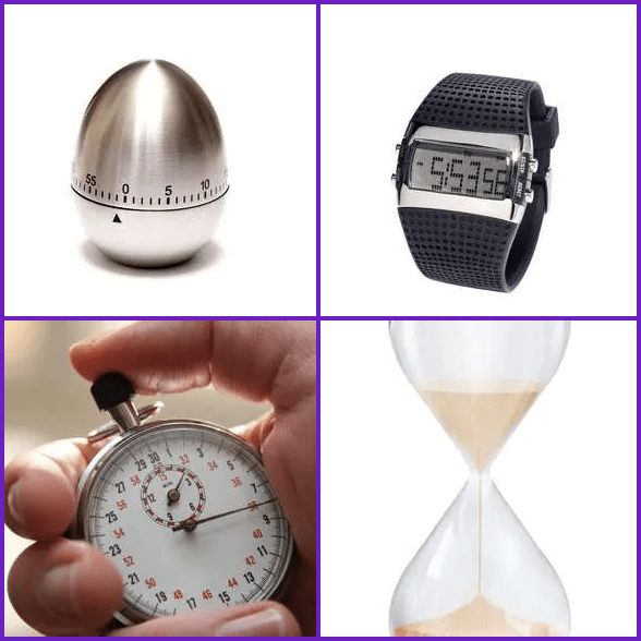 4 Pics 1 Word –  TIMER answer
