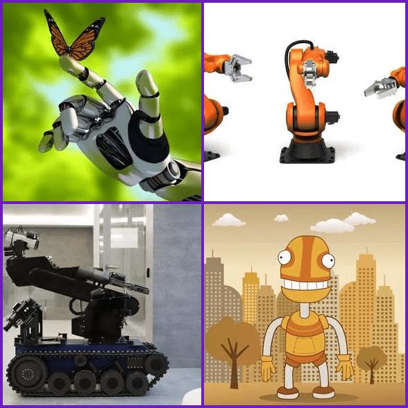 4 Pics 1 Word –  ROBOT answer