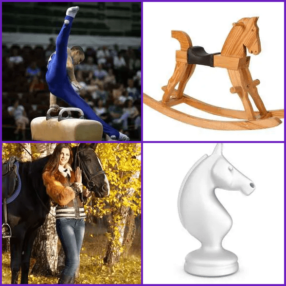 4 Pics 1 Word –  HORSE answer