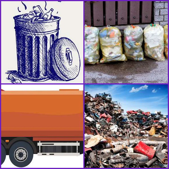 4 Pics 1 Word –  GARBAGE answer