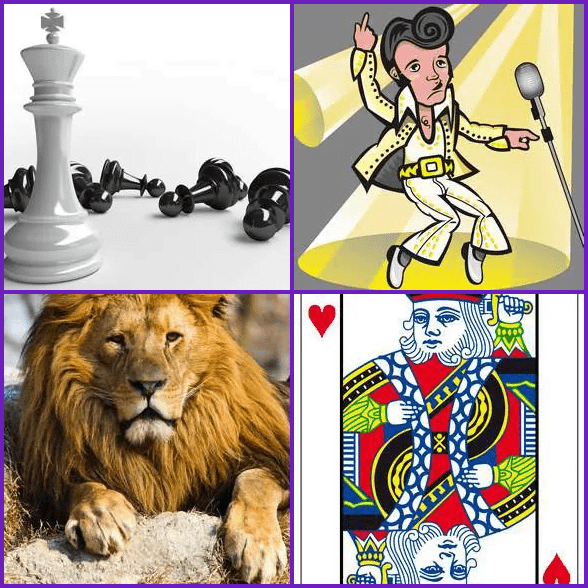 4 Pics 1 Word –  KING answer