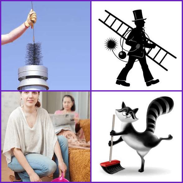 4 Pics 1 Word –  SWEEP answer