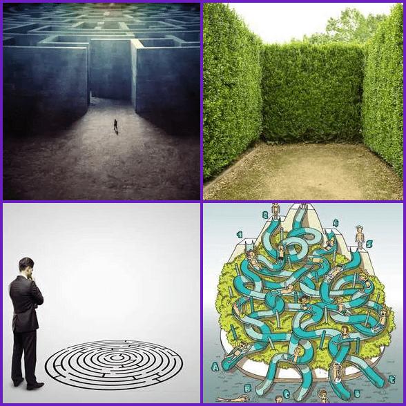 4 Pics 1 Word –  MAZE answer