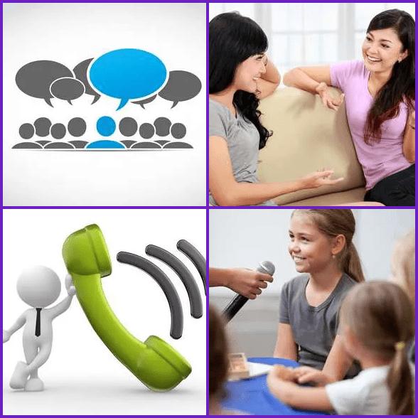 4 Pics 1 Word –  TALK answer