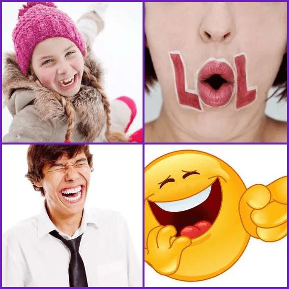 4 Pics 1 Word –  LAUGH answer
