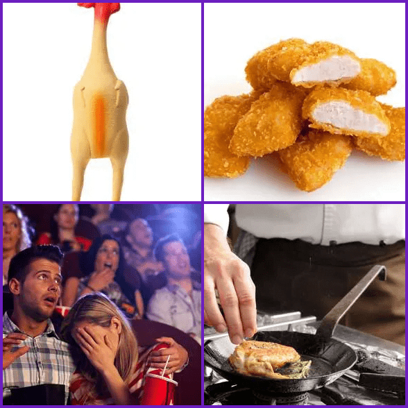 4 Pics 1 Word –  CHICKEN answer