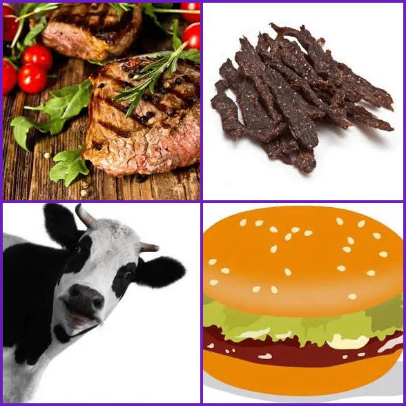 4 Pics 1 Word –  BEEF answer