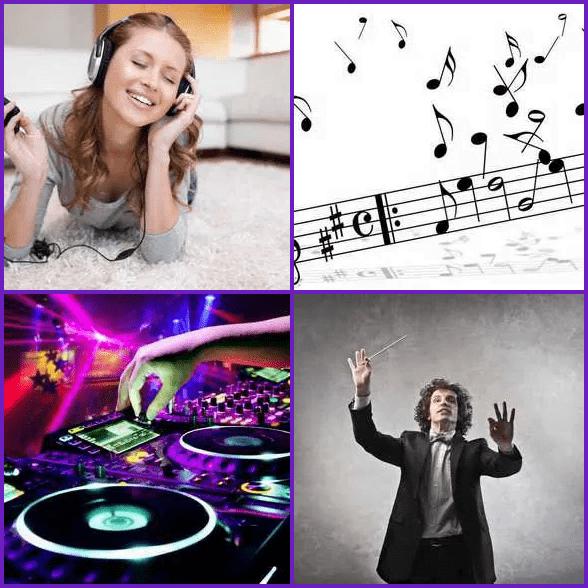4 Pics 1 Word –  MUSIC answer
