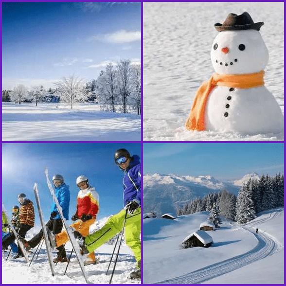 4 Pics 1 Word –  SNOW answer