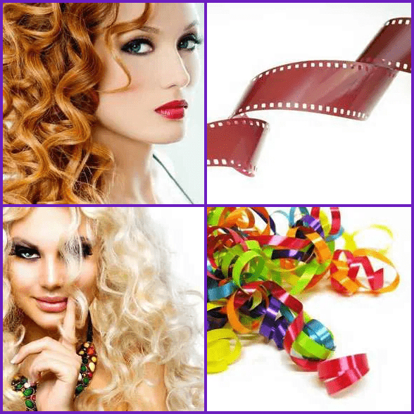 4 Pics 1 Word –  CURL answer