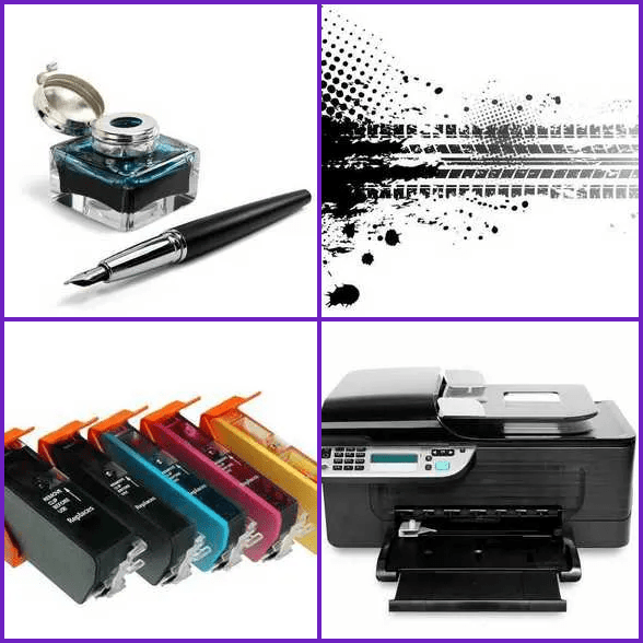 4 Pics 1 Word –  INK answer