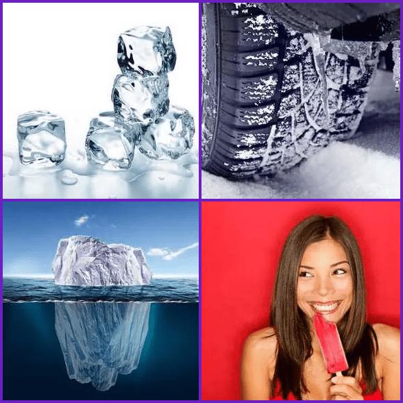4 Pics 1 Word –  ICE answer