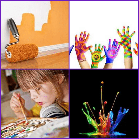 4 Pics 1 Word –  PAINT answer