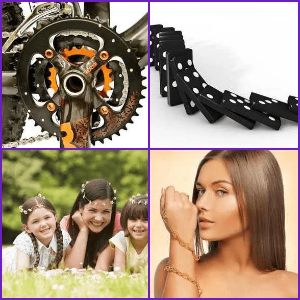 4 Pics 1 Word –  CHAIN answer