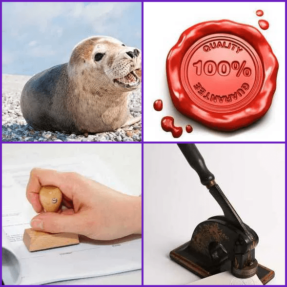 4 Pics 1 Word –  SEAL answer