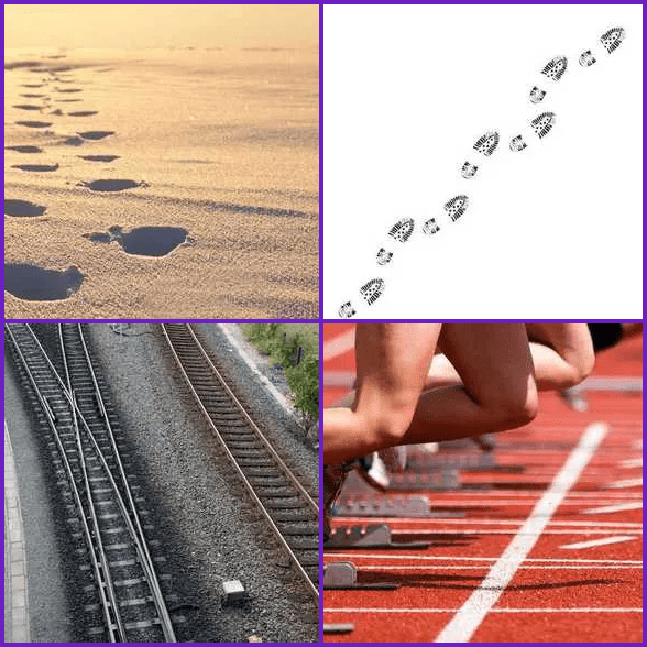 4 Pics 1 Word –  TRACK answer
